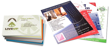 Leaflets and Business Cards for Business Branding